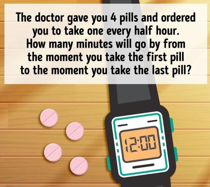 4 Pills Riddle