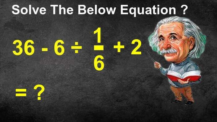 Answer Fast Maths Equation Puzzle