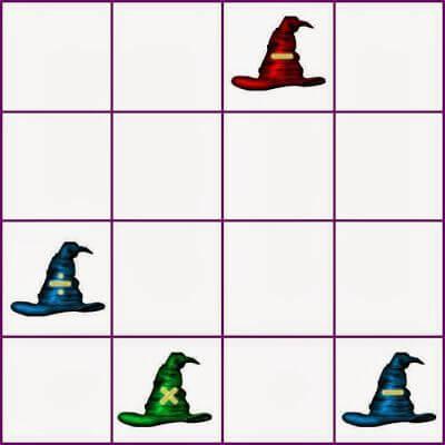 Famous Logical Picture Grid Puzzle