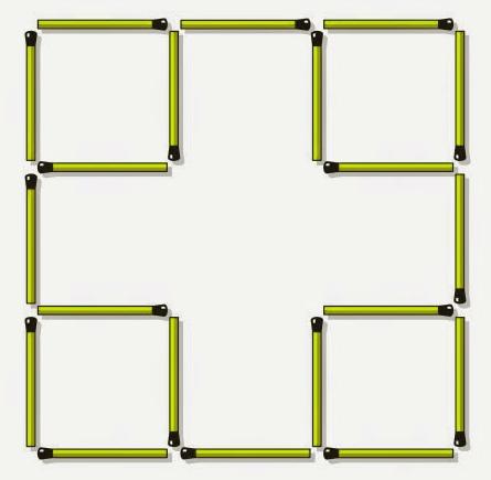 Hard Matchstick Puzzle