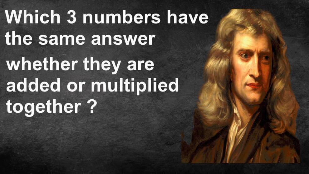 Mathematics Trivia Riddle