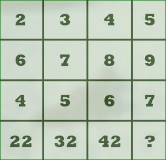 Missing Number Brain Teaser