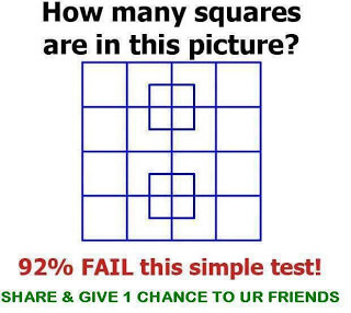 count the number of squares
